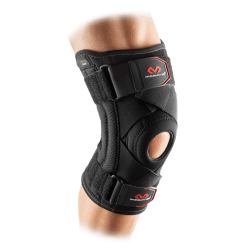 KNEE SUPPORT BRACE WITH STAYS AND CROSS STRAPS - MCD/425