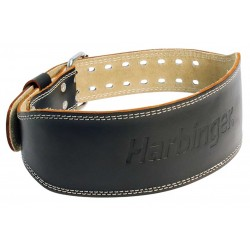 PADDED LEATHER BELT -...